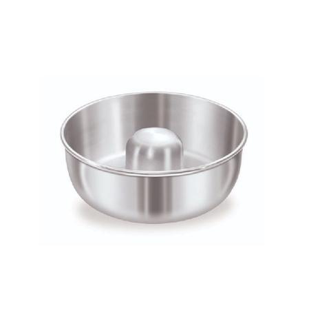 Imagem de Forma Assadeira Redonda Com Furo 26x9,5 cm Aluminio