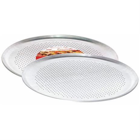 Imagem de Forma Para Pizza Crocante 35cm Alumínio 645 Mta