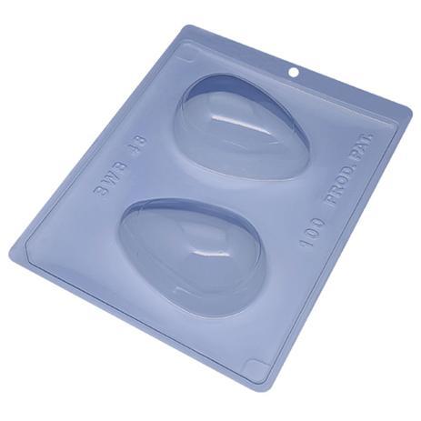Imagem de Forma PVC Silicone Ovo Liso 100g Ref.48 - BWB