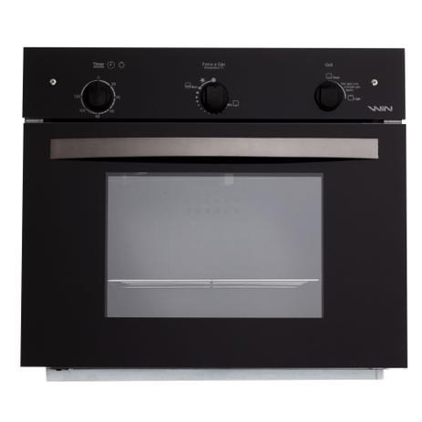 Imagem de forno a gás win, de embutir, com grill elétrico e acend. automático