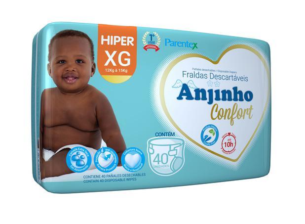 Imagem de Fralda Anjinho Confort Hiper Tam. XG c/ 40 unidades Parentex