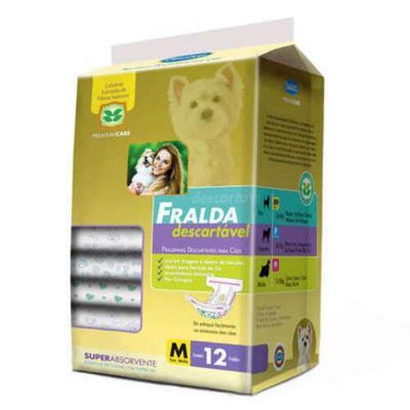 Imagem de Fralda Descartável Chalesco Para Cães Fêmeas - Tamanho M