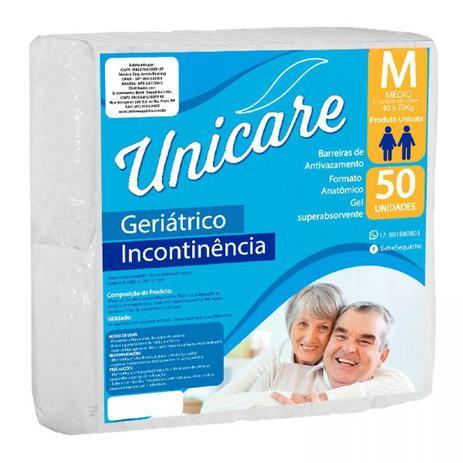 Imagem de Fralda Descartável Geriátrica Unicare M C/50 Pacotão Econômico