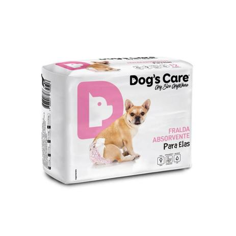 Imagem de Fralda Descartável Para Cães Com 06 Unidades - Dog's Care