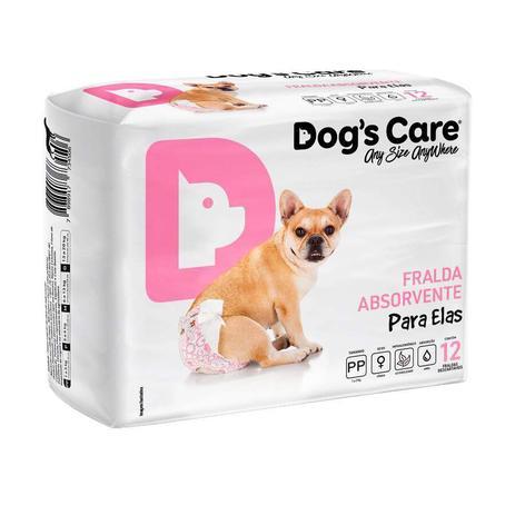 Imagem de Fralda Dogs Care Ecofralda Cães Fêmeas Tam PP - 12 Unidades - Tamanho PP