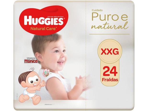 Imagem de Fralda Huggies Premium Puro e Natural Noturna