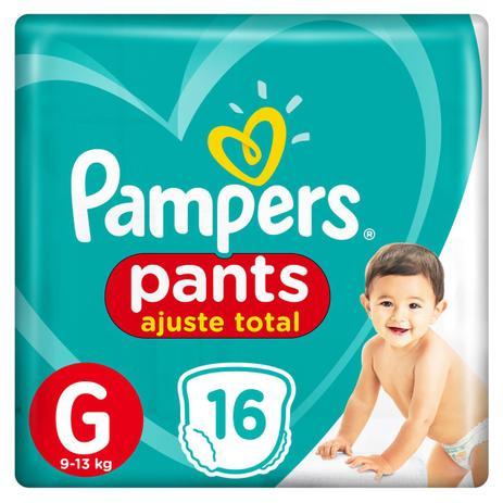 Imagem de Fralda Pampers Pants Ajuste Total G 16 unidades