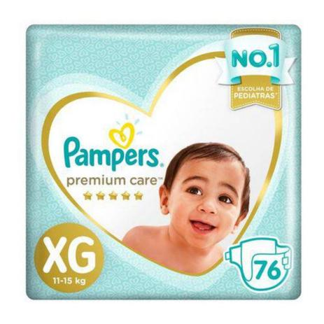 Imagem de Fralda Pampers Premium Care XG 76 Unidades