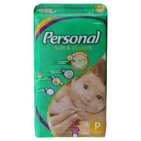Imagem de Fraldas Personal Soft & Protect P 36 U