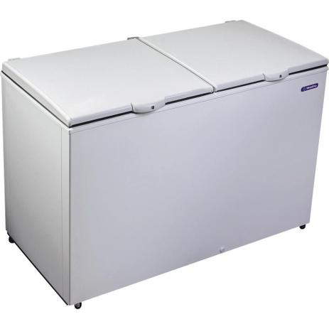 Imagem de Freezer e Refrigerador Horizontal (Dupla Ação) 2 Tampas 419 Litros DA420  Metalfrio
