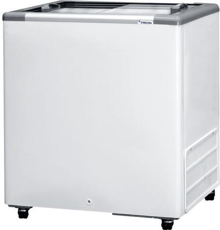 Imagem de Freezer Expositor Horizontal 216 Litros Fricon HCEB 216 Com Tampa de Vidro