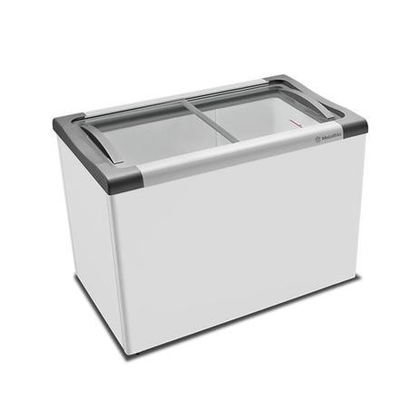 Menor preço em Freezer horizontal tampa de vidro nf40 - metalfrio