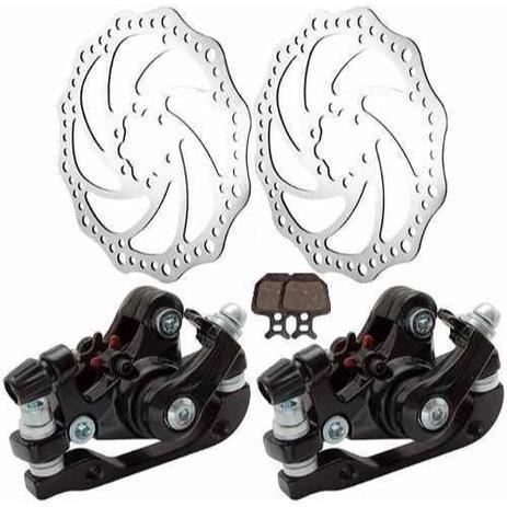 Imagem de Freio a Disco Bicicleta Discos e Pinças Mecânico - Gta