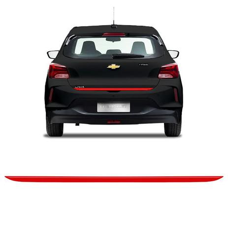 Imagem de Friso do Porta-Malas Onix Hatch 2020 Turbo Adesivo Traseiro