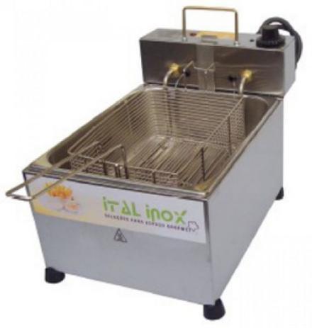Imagem de Fritadeira Elétrica Profissional 5 litros Ital Inox