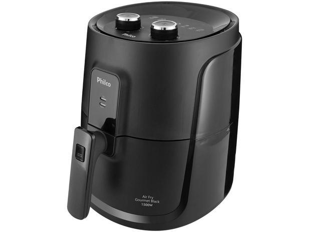 Imagem de Fritadeira Elétrica sem Óleo/Air Fryer Philco - Gourmet Black PFR15P Preto 4L