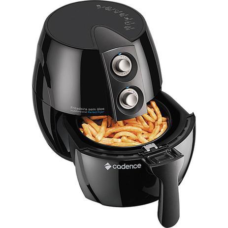Imagem de Fritadeira Elétrica sem Óleo Cadence 2.3L Perfect Fryer FRT531 com Timer Preta