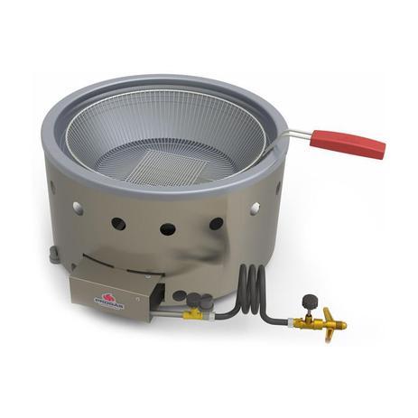 Imagem de Fritadeira Tacho Fritura 7 litros a Gás Alta Pressão PR-70G  - Progás
