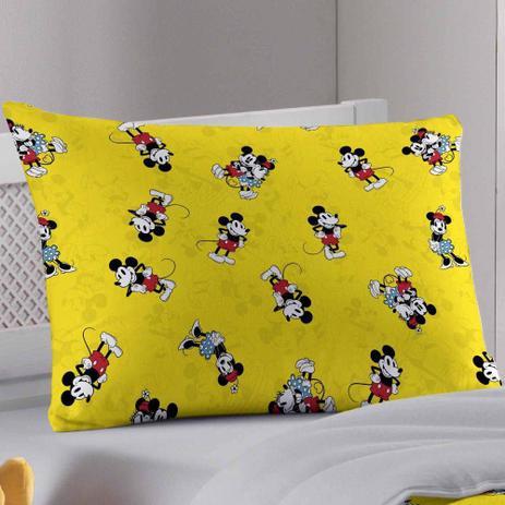 Imagem de Fronha Avulsa Portallar Malha 100% Algodão Disney Mickey 90'S