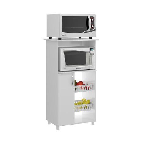 Fruteira com espa o para forno micro soluzione m veis for Mesa para microondas