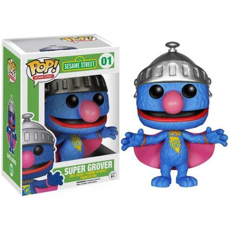 Imagem de Funko Pop Sesame Street Super Grover 01