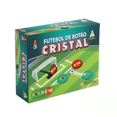d20d99469ffaa Futebol de Botão Cristal Brasil x Espanha - Gulliver - Botão para ...