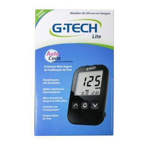 Imagem de G Tech Free Lite Aparelho Medidor de Glicose C/10 Tiras