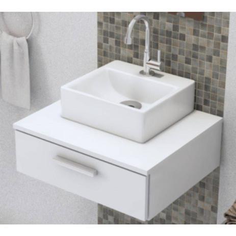 Gabinete De Banheiro Pequeno Para Decoração Com Kit De Instalação Fred Planejados