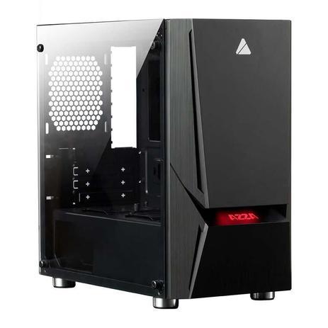 Imagem de Gabinete Gamer AZZA Luminous 110F Lateral de Vidro LED RGB, CSAZ-110F