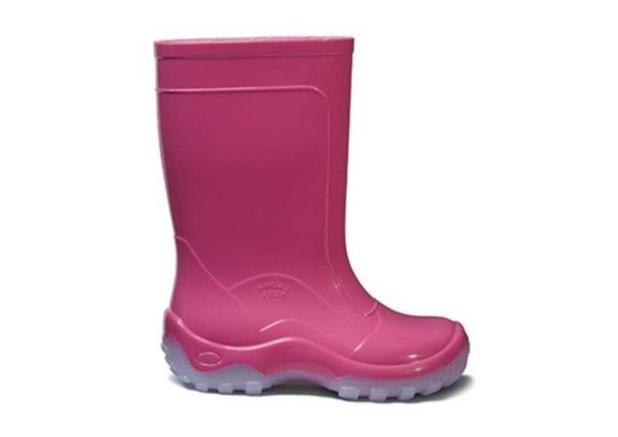 e53ff3cb7a9 Galocha Bota Nieve Rosa Pink Borracha PVC Infantil Italbotas ...