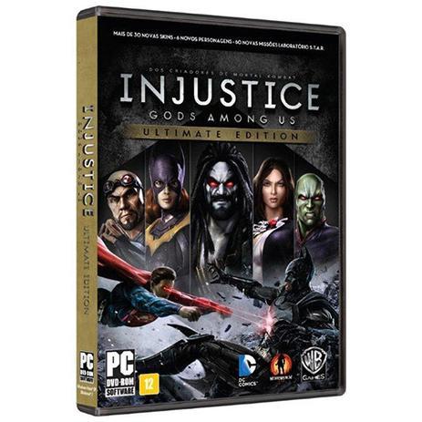 Imagem de Game Injustice - Gods Amongus us Ultimate Edition - PC