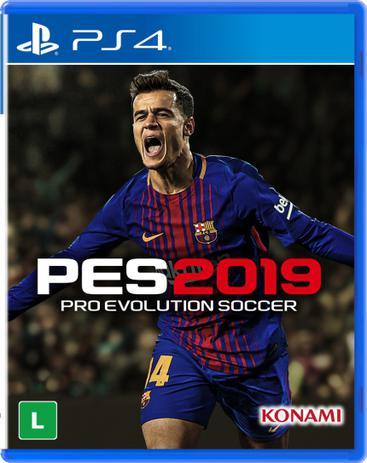 Imagem de Game pes 2019 - ps4