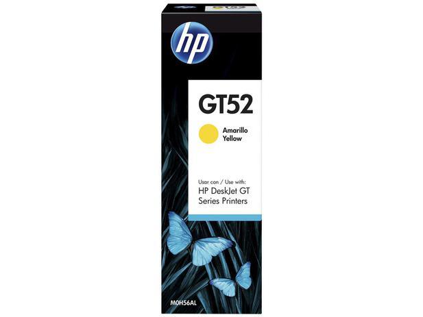 Garrafa de Tinta HP Amarelo GT52 Original - para HP DeskJet GT 5822