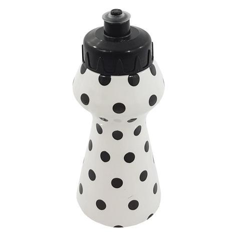 Imagem de Garrafa plástica squeeze poa preta 250ml - koplast