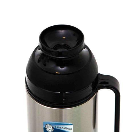 Imagem de Garrafa Térmica Café Chá Sopa Aço Inox 1 Litro Termolar Lumina c/ Tampa - 120978