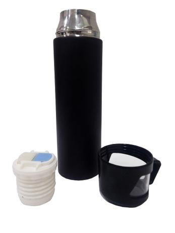 Imagem de Garrafa Térmica Inox 500ml Para Água Chá E Cafe - Preto