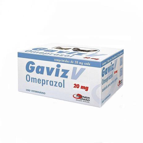Imagem de Gaviz V 20 mg Antiácido Agener 50 comprimidos