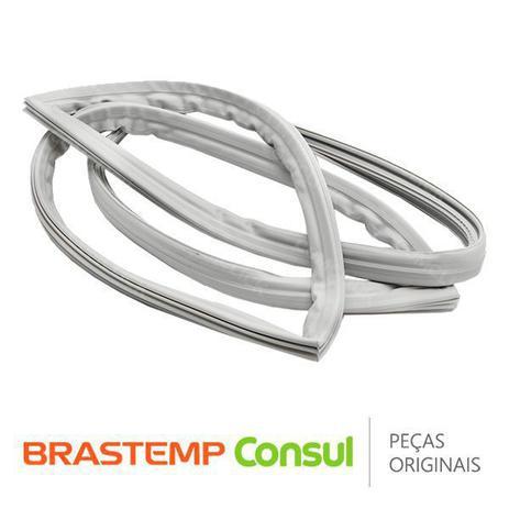 Imagem de Gaxeta / Borracha da Porta do Freezer W10268573 / W10563078 para Geladeira Brastemp Consul BRD36