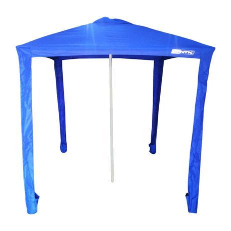 3ca0ee7c0b0c Gazebo Guarda-Sol Sombreiro 1,73x1,73m Nautika com Fixação Central Ibiza  350041 Azul