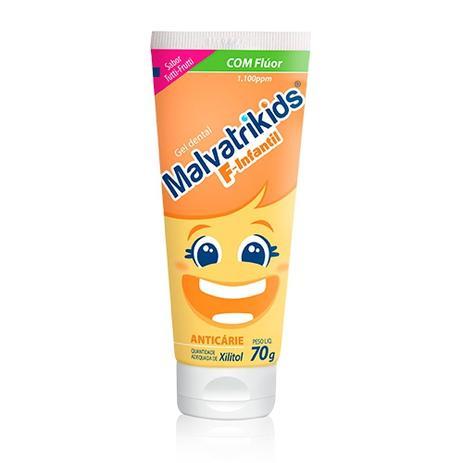 Imagem de Gel Dental Malvatrikids 70g