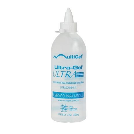 Imagem de Gel para Ultrassom Ultra Gel Ultra Frasco 300G - 6 UNIDADES