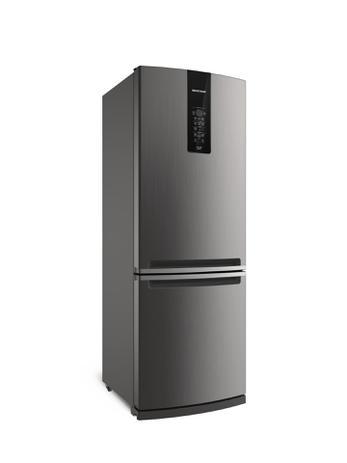 Imagem de Geladeira Brastemp Inverse 460 litros Inox com Freeze Control Advanced BRE59AK - 110V