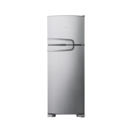 Imagem de Geladeira Consul Frost Free Duplex 340 litros Evox com Prateleiras Altura Flex CRM39AK - 127V