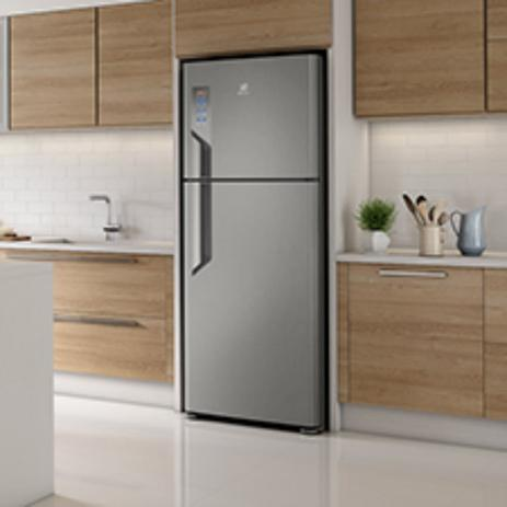 Geladeira Electrolux TF55S TOP 2 Portas Frost Free Platinum 431L - 110V