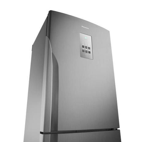 Imagem de Geladeira Refrigerador 425 Litros Panasonic 2 Portas Frost Free Inverse NR-BB53PV3XB