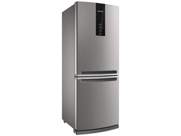 090320a9d Geladeira Refrigerador Brastemp Frost Free Inverse - 443L BRE57AKANA Evox
