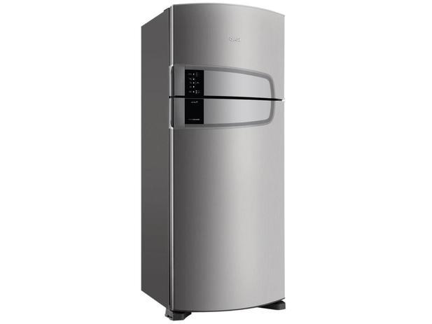 Geladeira/Refrigerador Consul Frost Free Inox - Duplex 405L Bem Estar Painel Touch CRM52AKANA