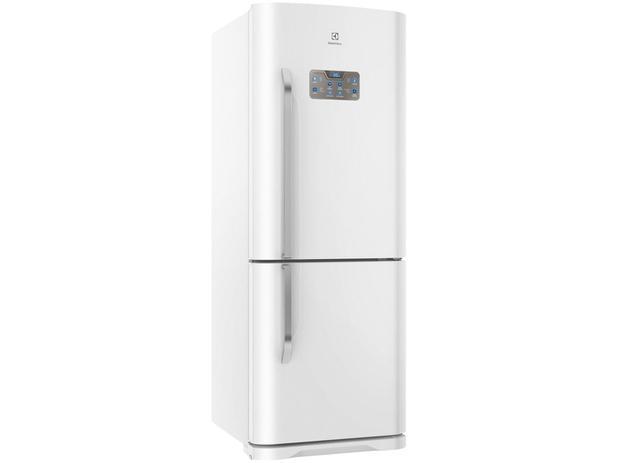 Geladeira/Refrigerador Electrolux Frost Free - Bottom Freezer 454L Painel Blue Touch DB53 Branca - 220V