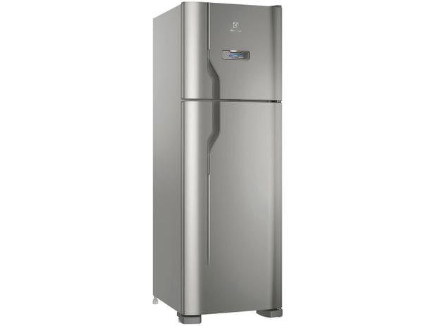 Geladeira/Refrigerador Electrolux Frost Free Inox - Duplex 371L DFX41 - 220V
