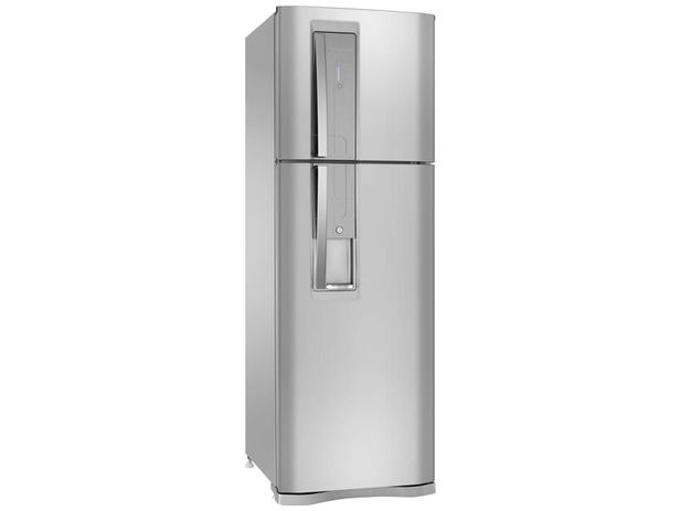 Geladeira/Refrigerador Electrolux Frost Free Inox - Duplex 380L Painel Touch DW42X11089 - 110V